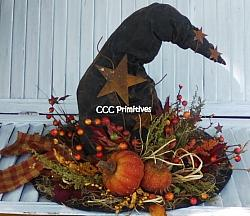 15 inch Large Witch Hat Center Piece Pattern