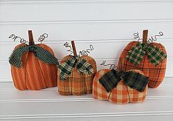 #f201 Fall Homespun Pumpkins