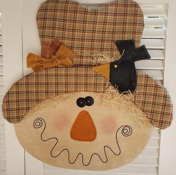 Sam Scarecrow Door Greeter