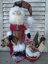 Adorable Santa Pattern