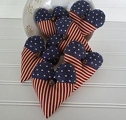 Americana Heart Bowl Filler