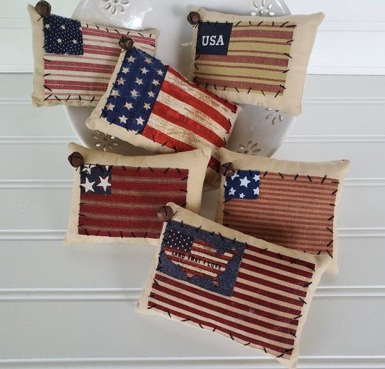 USA Fabric Pillows