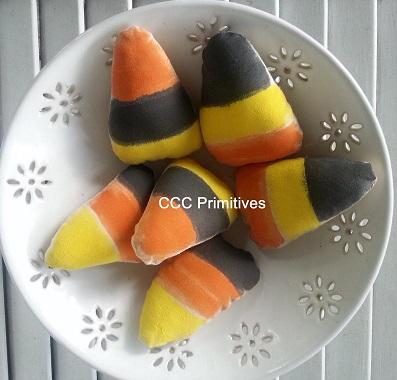 Black Candy Corn Bowl Filler