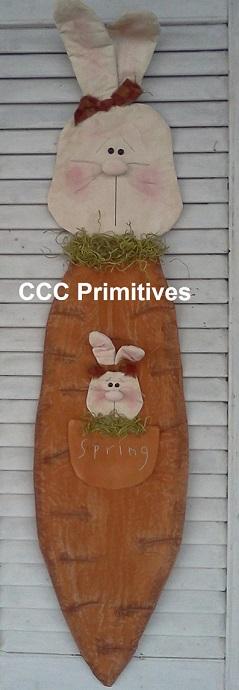 Spring Bunny Door Greeter