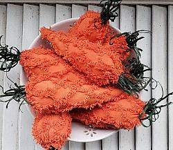Chenille Carrots Bowl Filler