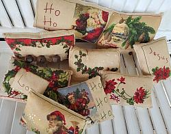 Embroidered Vintage Pillows