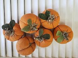 Handmade Fall Pumpkins