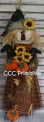 Happy Fall Scarecrow Pattern