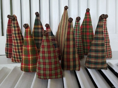 Homespun Christmas Trees