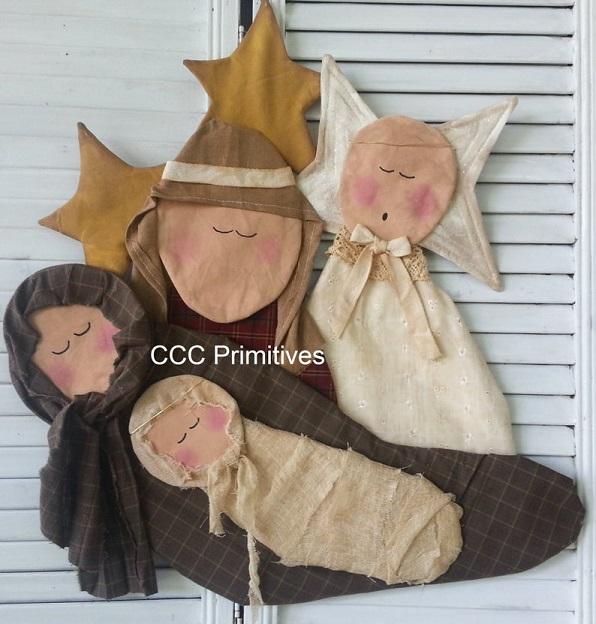 Nativity Scene Pattern