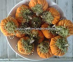 Fall Osnaburg Pumpkins