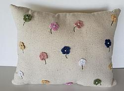 Osnaberg Flower Pillow