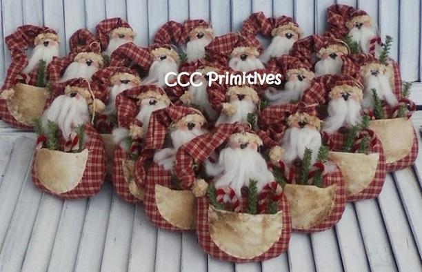 Santa Pocket Ornament Pattern