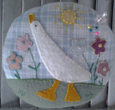 Silly Goose Pincushion