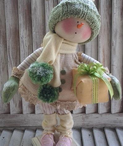 Snow Girl Maggie Pattern