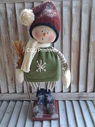 Snowman Leo Pattern