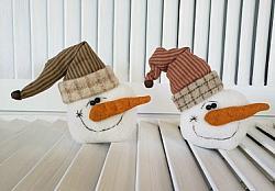 Snowman Shelf Sitters