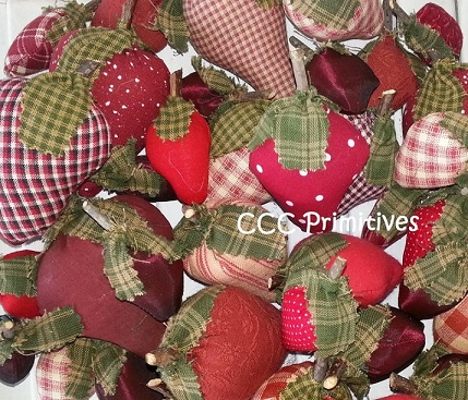 Strawberry Bowl Filler Pattern