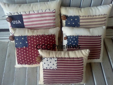 USA Fabric Pillows