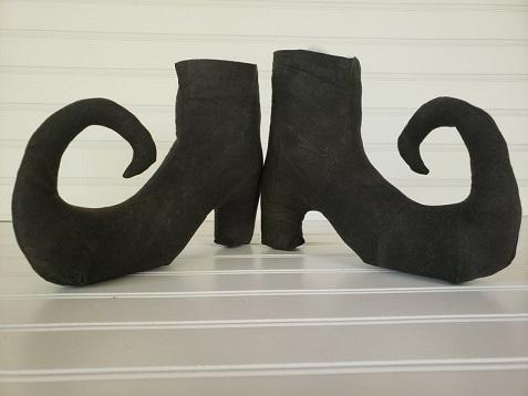 Plain Primitive Witch Boots