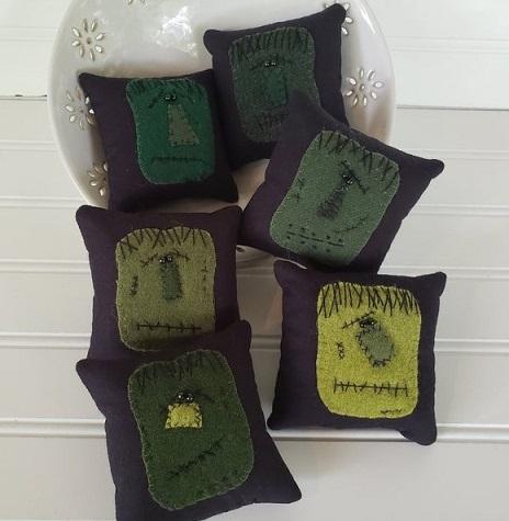 Wool Frankenstein Bowl Filler