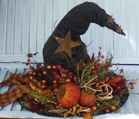 DIY 15 inch Plain Witch Hat