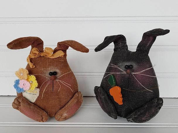 Spring Bunny Couple
