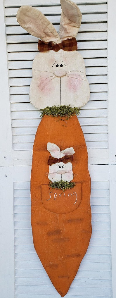 Spring Bunny Door Greeter