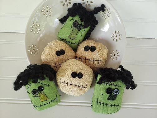 Frankenstein & Mummy Bowl Filler