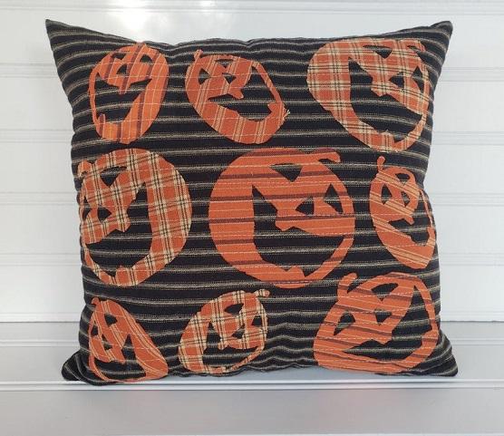 Jack O Lantern Pillow