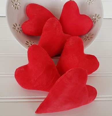 Valentine's Heart Bowl Filler