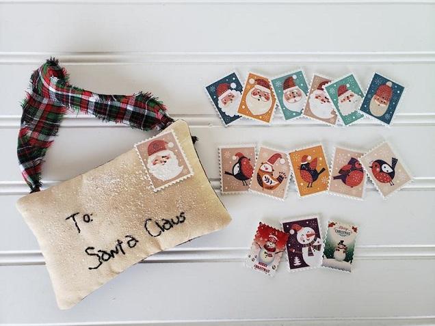 Letter to Santa Ornament
