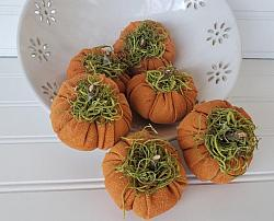 Fall Osnaburg Pumpkins
