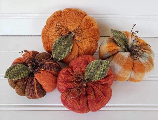 Fall Pumpkins Set