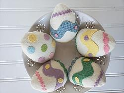 #sp106 Wool Easter Egg Bowl Filler