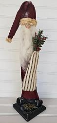 Primitive Old Santa