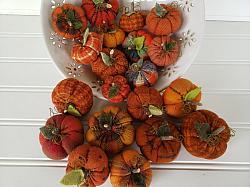 Fall Mini Flannel Woolies Pumpkin
